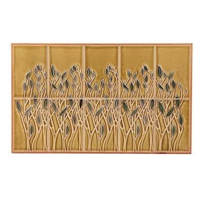 """Rookwood Pottery """"Rousseau Concept Board"""" Tile Plaque"""