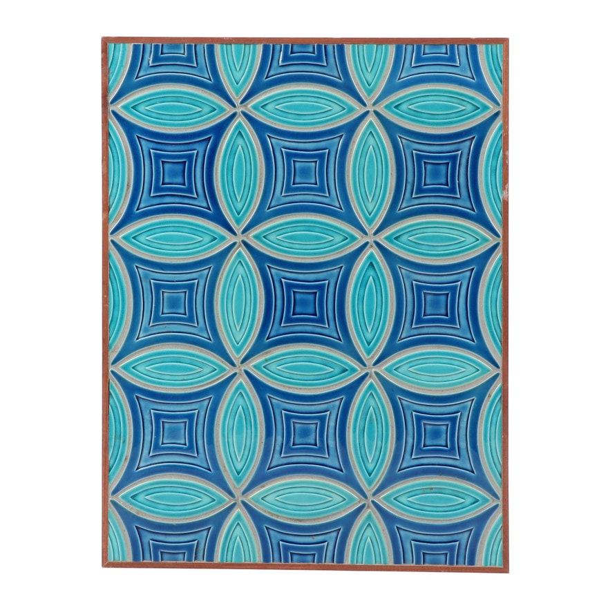 """Rookwood Pottery """"Reverie and Peel"""" Architectural Tile Panel"""