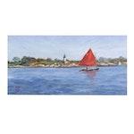 CMC Coastal Landscape Oil Painting
