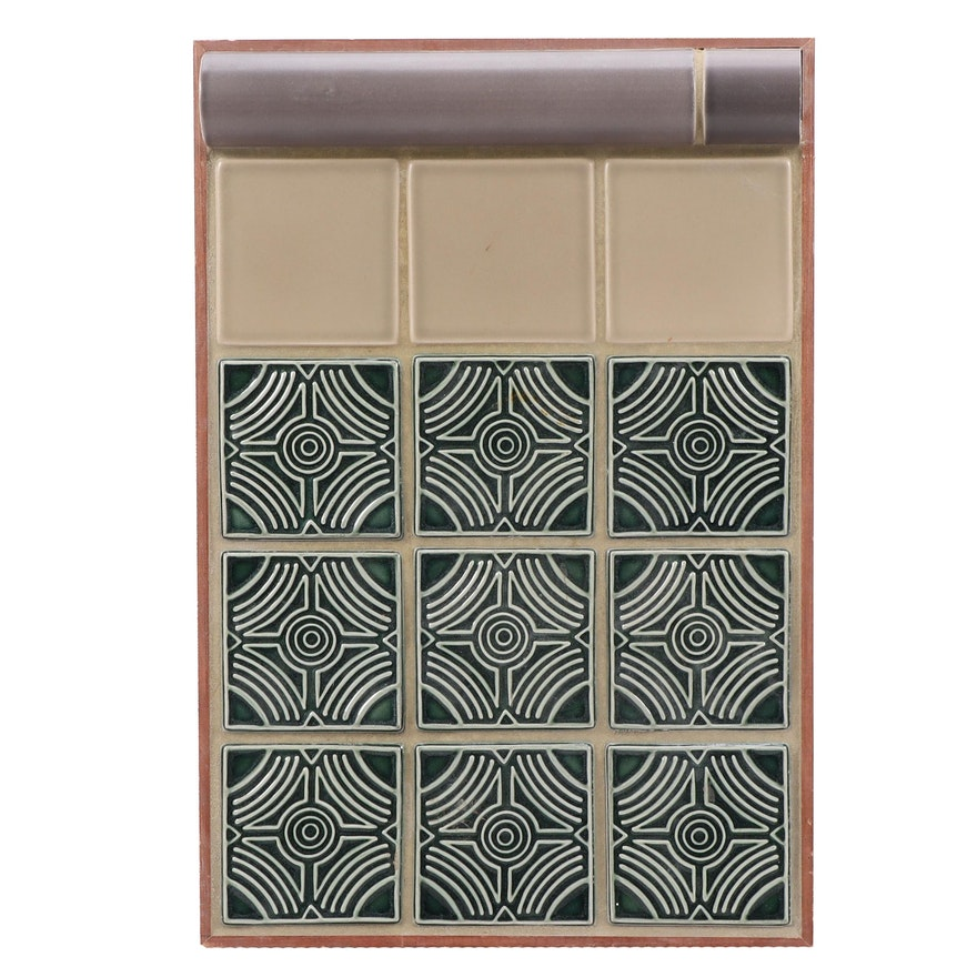 Rookwood Pottery Architectural Tile Panel, Contemporary