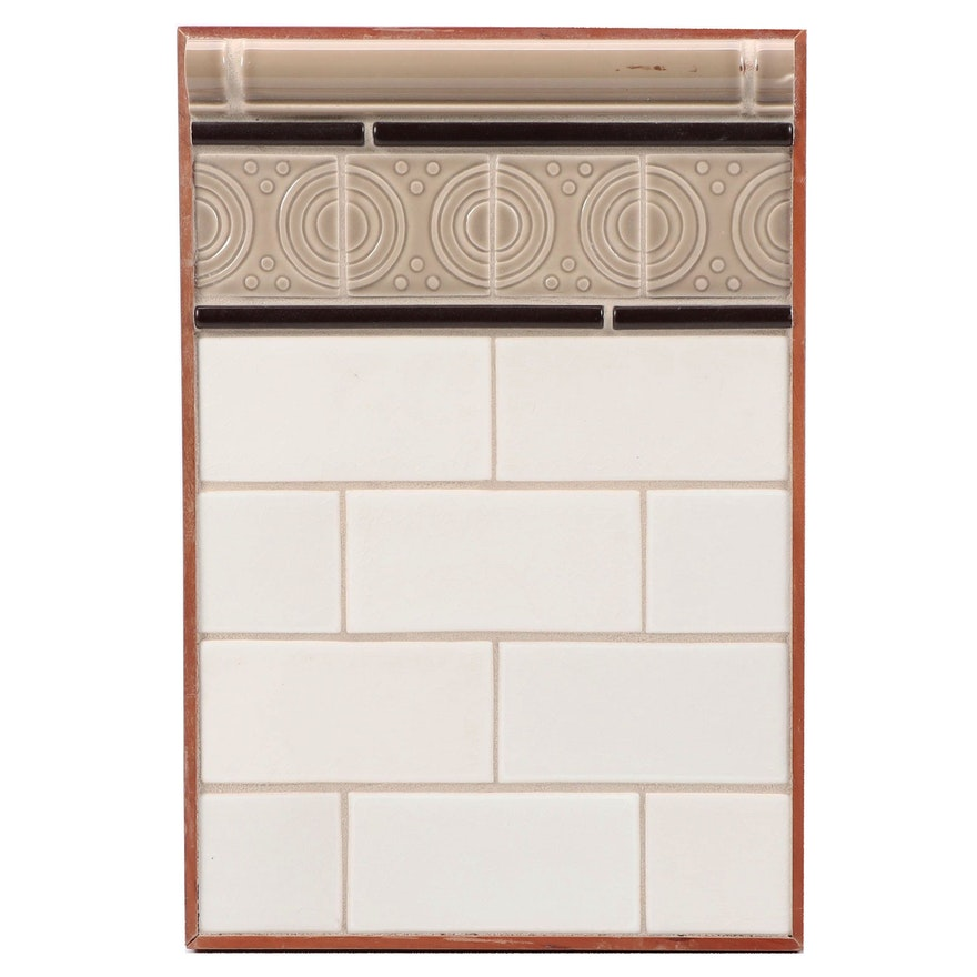 Rookwood Pottery Architectural Tile Plaque