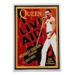 "David Edward Byrd Artist Proof Giclée ""Queen & Freddie Mercury at Live Aid"""
