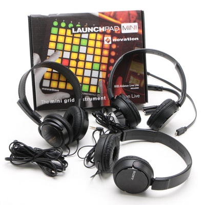 Novation Launchpad Mini, Sony MDR-ZX110AP Headphones and More