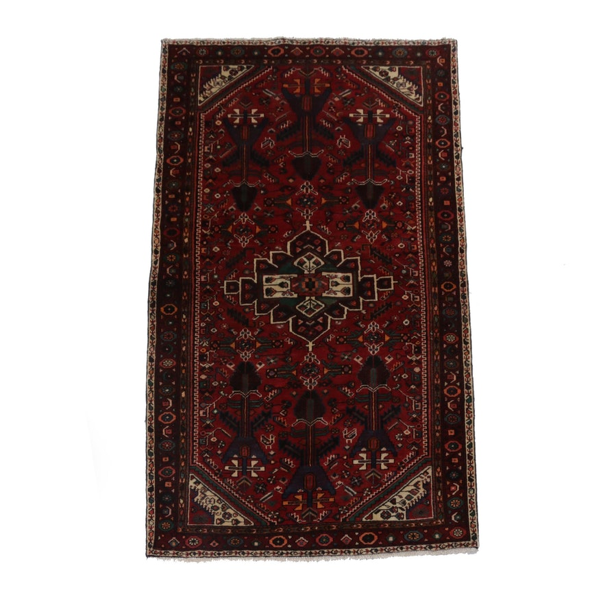 Hand-Knotted Northwest Persian Rug, Circa 1960