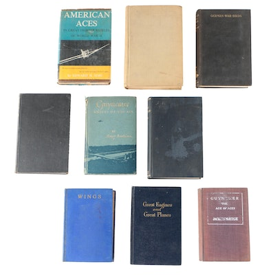 "Aviation Books including 1927 ""The Great Delusion"" by Neon"