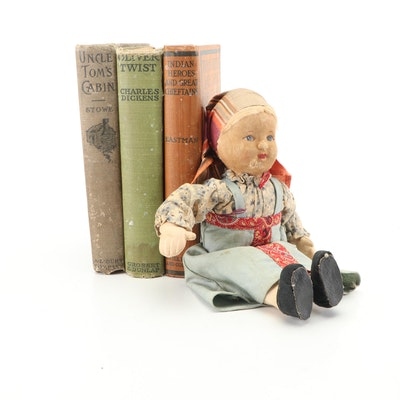 Classic Literature and Nonfiction with Russian Cloth Doll