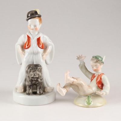 Herend Porcelain Figurines