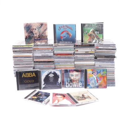 Classic Pop and Rock Music CD Collection
