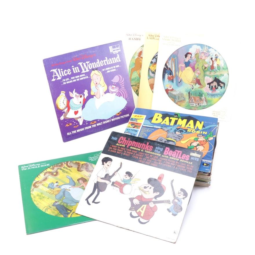 Children's 33 1/3 RPM Records