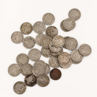 Thirty-Four Buffalo Nickels