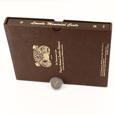 Dansco Album of Lincoln Memorial Cents