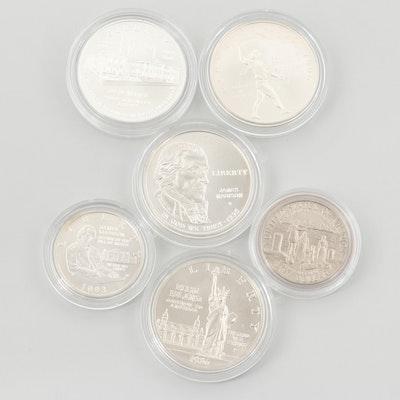 U.S. Uncirculated Commemorative Coins and Commemorative Sets