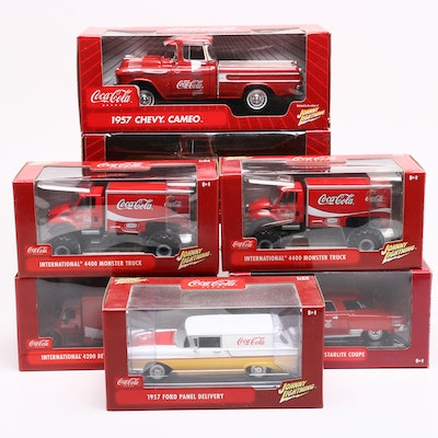 Coca-Cola Diecast Vehicles, Contemporary