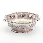 "J. Clementson ""Udina"" Ironstone Transferware Bowl, 1840s"