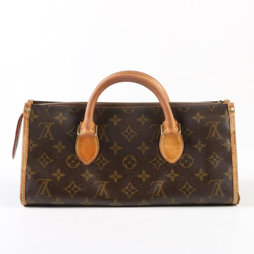 Louis Vuitton Paris Monogram Canvas Sac Triangle