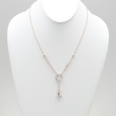 Sterling Silver Star Motif Necklace