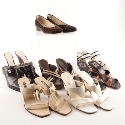 Taryn Rose, BCBG, Franco Sarto, Brighton, Nouchka, and More Mules and Wedges