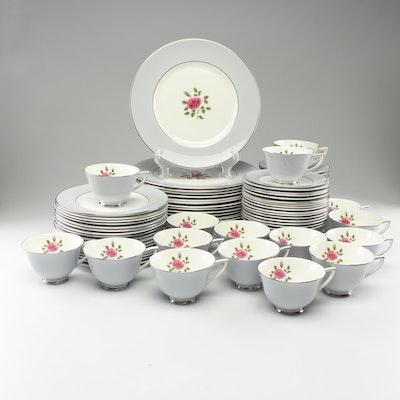 "Royal Doulton ""Chateau Rose"" Bone China Dinnerware"
