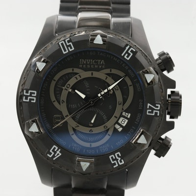Invicta Reserve Stainless Steel Quartz Wristwatch