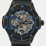 Stührling Stainless Steel Automatic Wristwatch With Skeletal Dial