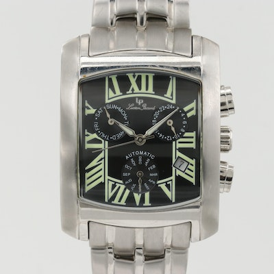 Lucien Piccard Stainless Steel Wristwatch