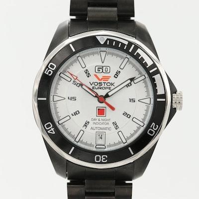 Vostok Europe K-3 Submarine Stainless Steel Automatic Wristwatch