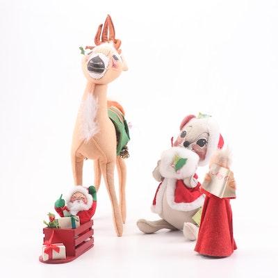 Annalee Christmas Plush Doll Assortment