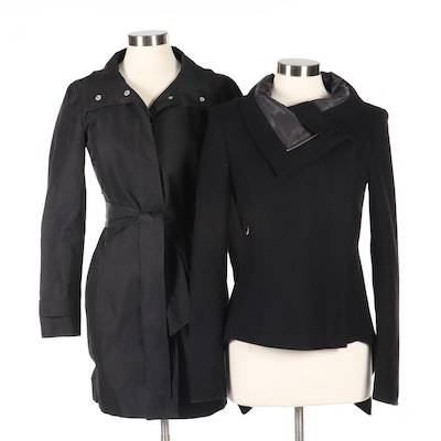 Clio' Firenze and Max & Co. Black Jackets