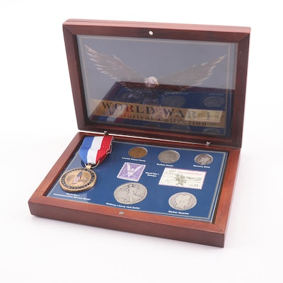 """WWI Historical Collection"" Coin Set, Featuring United States Coinage"