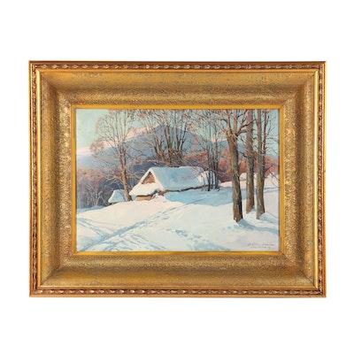 Leszek Stanko Landscape Oil Painting
