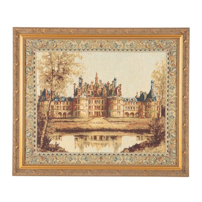 Chambord Castle Machine-Woven Tapestry Panel