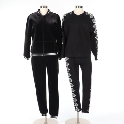 Anne Fontaine Casual Activewear in Black and White