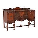 Late Victorian Sideboard with Figural Veneer