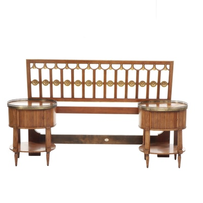 Three-Piece Baker Furniture, Neoclassical Style Bedroom Set