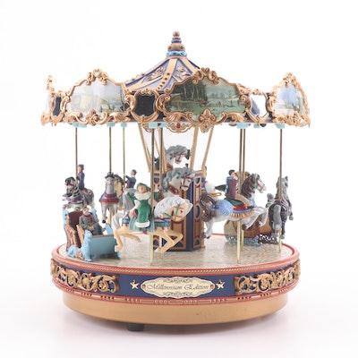 Mr. Christmas Musical Carousel
