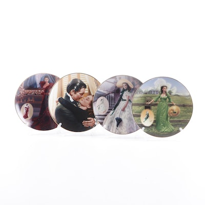 "Bradford Exchange ""Gone With the Wind"" Limited Edition Collector Plates"