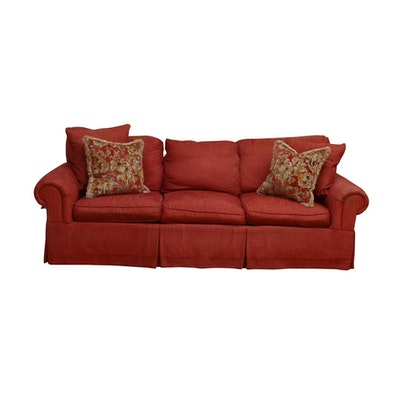Century Upholstered Sofa, Contemporary