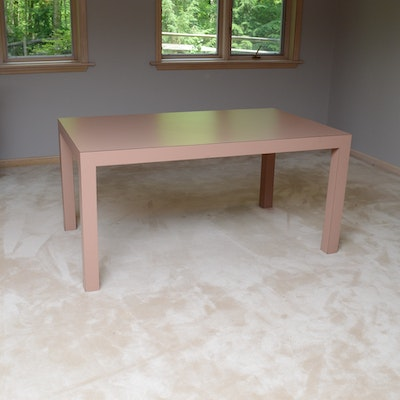 Contemporary Laminate Dining Table