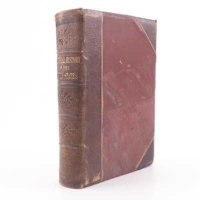 """1874 """"The Centennial History of the United States"""" by James McCabe"""