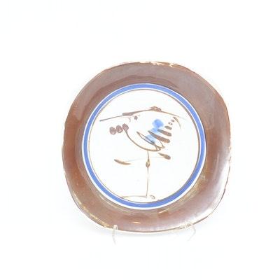 """Dansk """"Heron"""" Serving Platter Designed by Niels Refsgaard"""