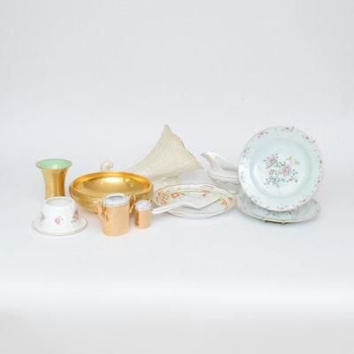 Collection of Mixed China Serveware