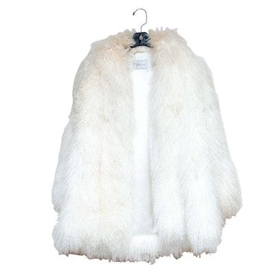 Tibetan Curly Lamb Fur Coat