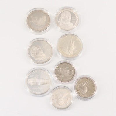 U.S. Commemorative Proof Coins and Commemorative Sets