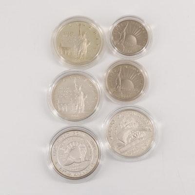 U.S. Commemorative Proof Coins and Commemorative Sets