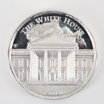 Donald Trump Two Ounce .999 Silver Round