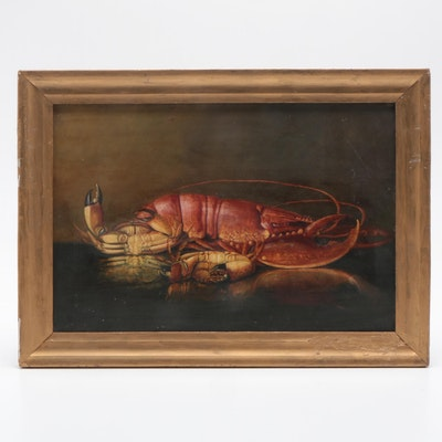 Still Life with Lobster Oil Painting