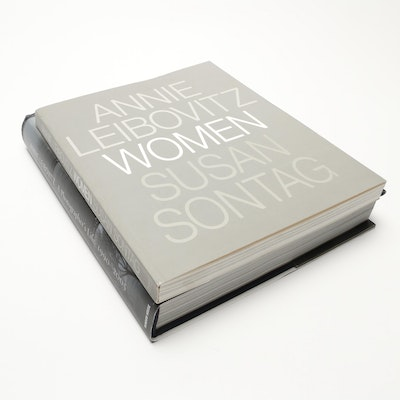 "Annie Leibovitz Art Books featuring ""A Photographer's Life"" and ""Women"""