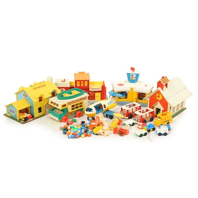 """Fisher-Price """"Little People"""" Toy Collection, Circa 1960s"""