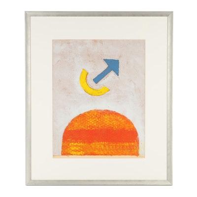 "Freedman Relief Print ""Emanation II"""