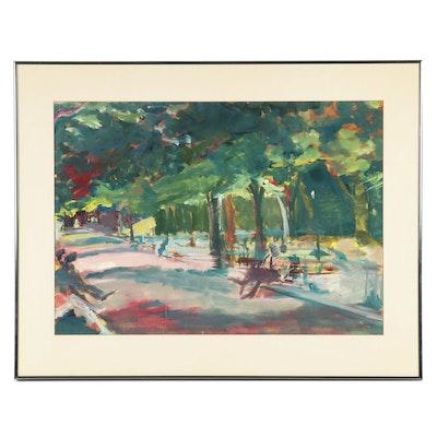 Henry Klimowicz Landscape Oil Painting